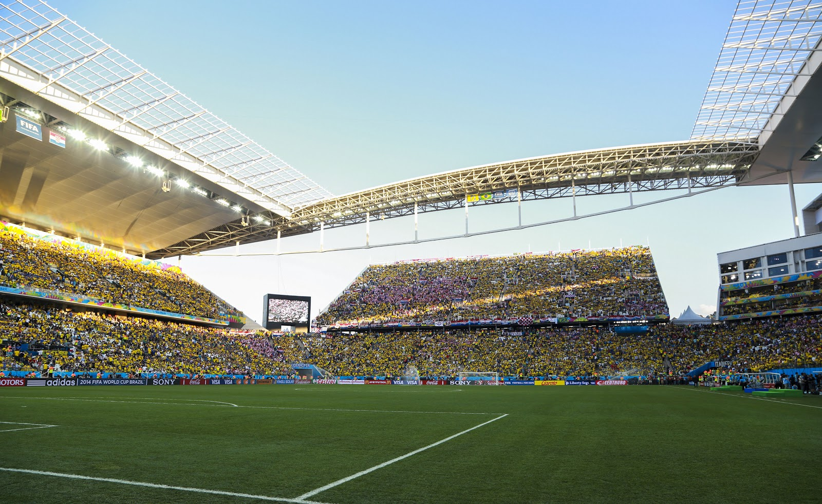 The 2014 FIFA World Cup spurred increased investment in Brazil, including stadiums and infrastructure.