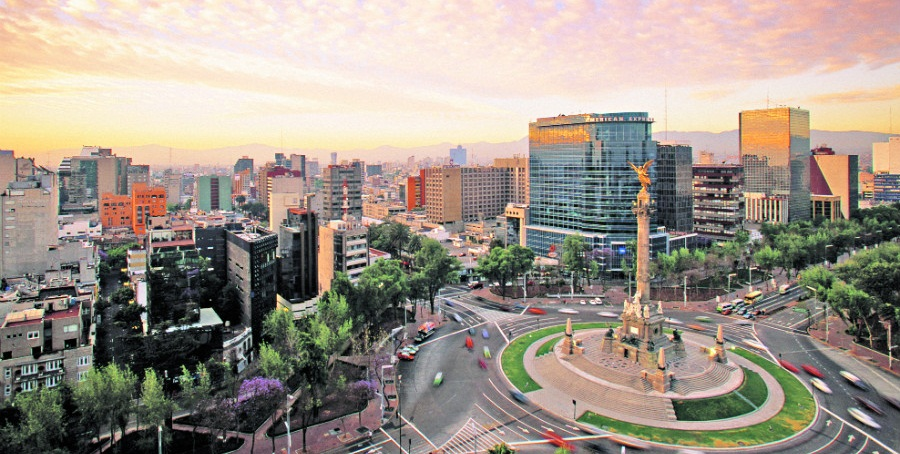 One of the most populous cities in the world, Mexico City is a common travel destination for business.