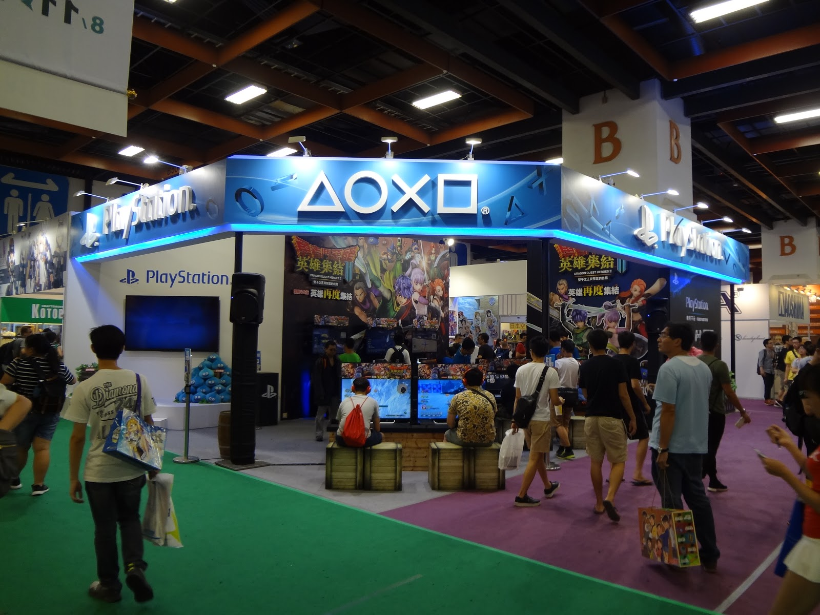 Booth design influences audience engagement.