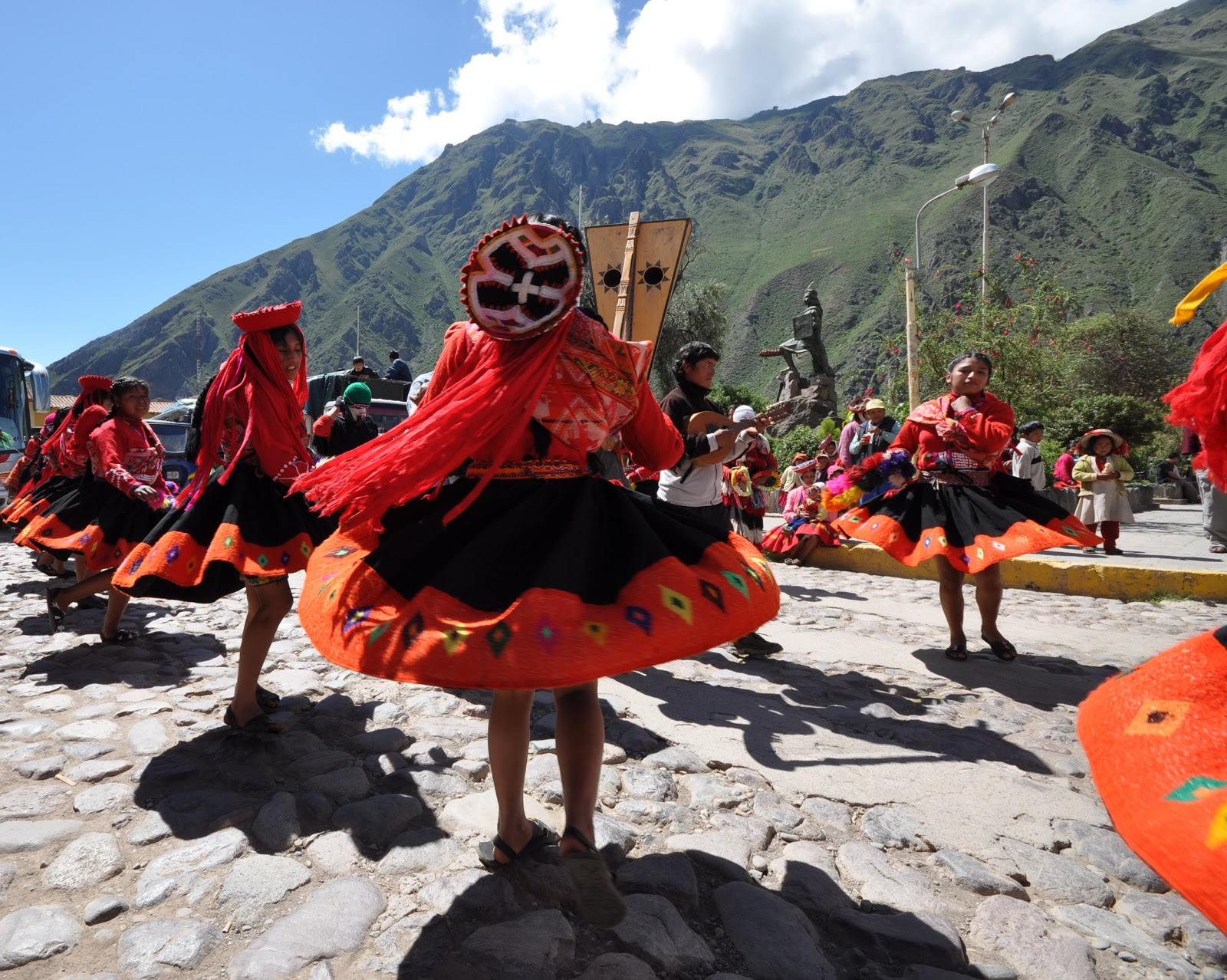 El Dia de los Reyes Magos features joyous celebrations, like this one in Peru.