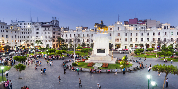 The capital of Lima is one of the largest metropolitan regions in the world.