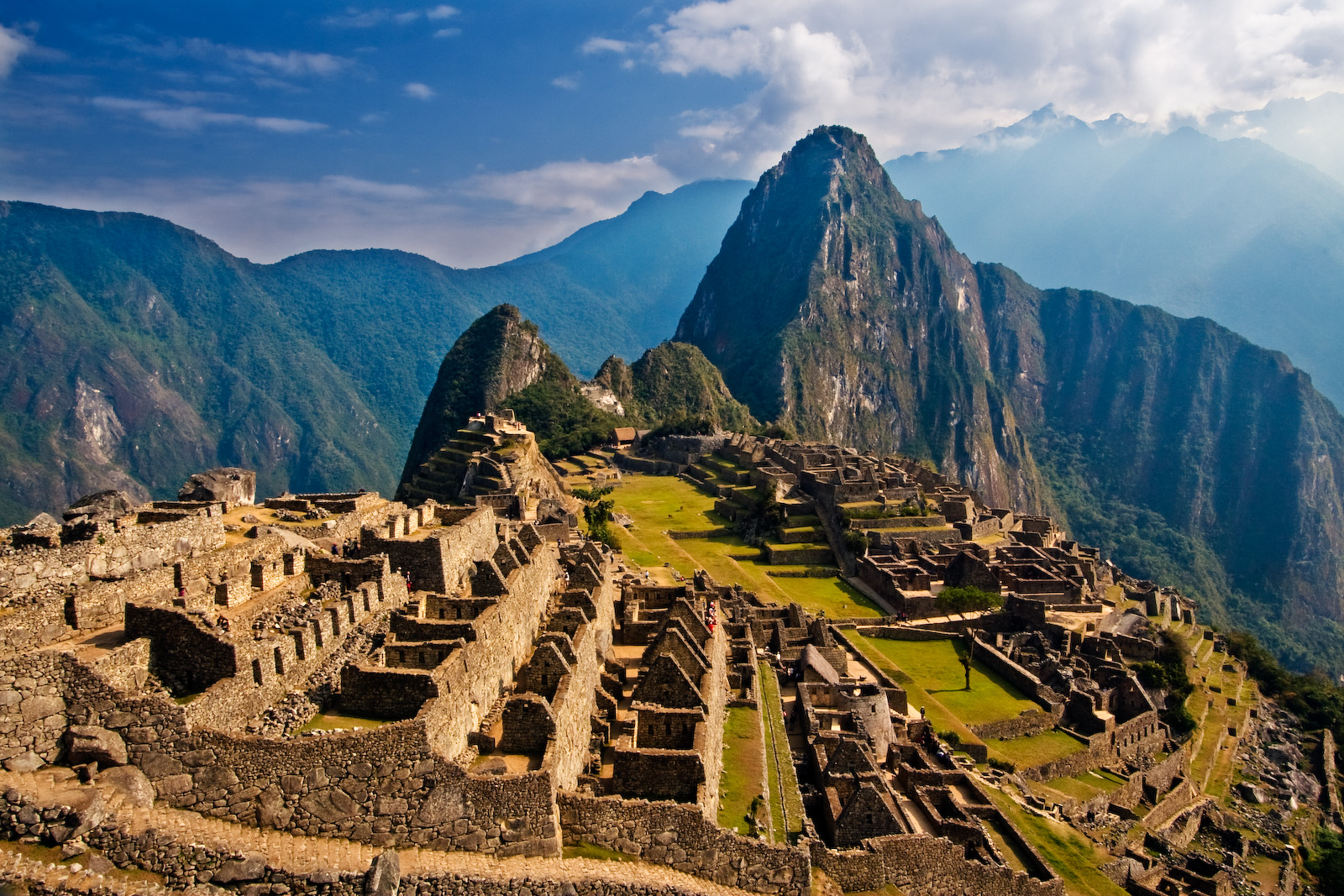 Machu Picchu is a top tourist destination in Peru.