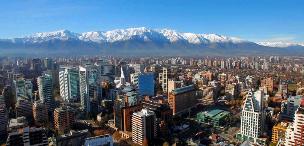Postal mail in Santiago, Chile is largely guided by comunas instead of postal codes.