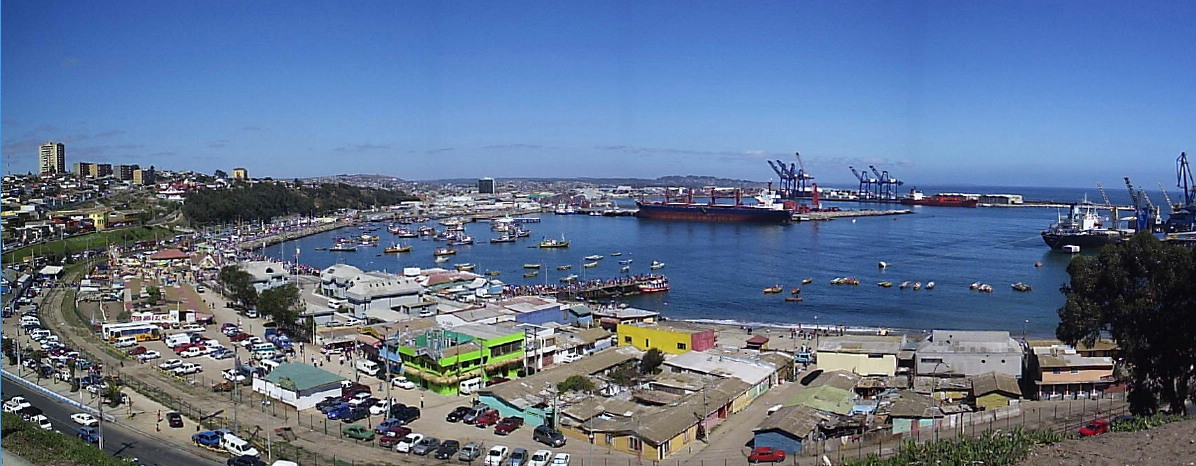 The Port of San Antonio in Chile is one of the largest ports importing goods to South America.