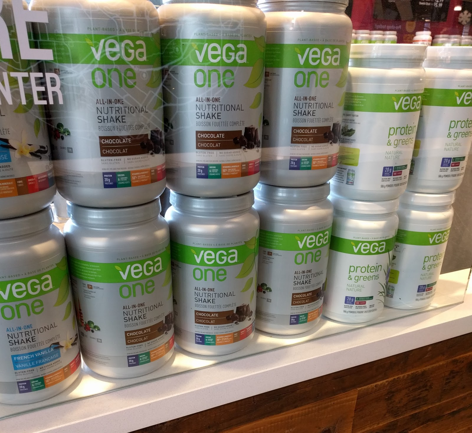 Protein powders and meal replacements are in demand in many Latin American countries.