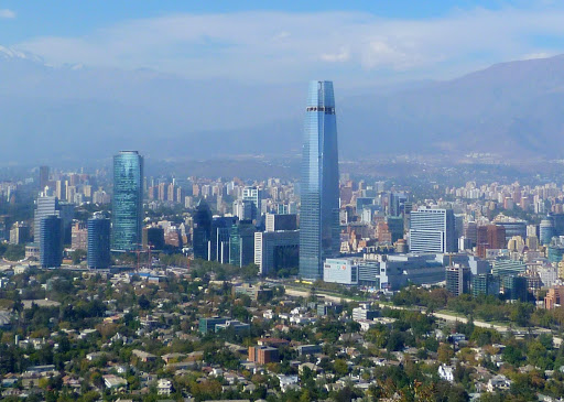 Santiago, Chile's capital, is a modern city, featuring Latin America's tallest building.