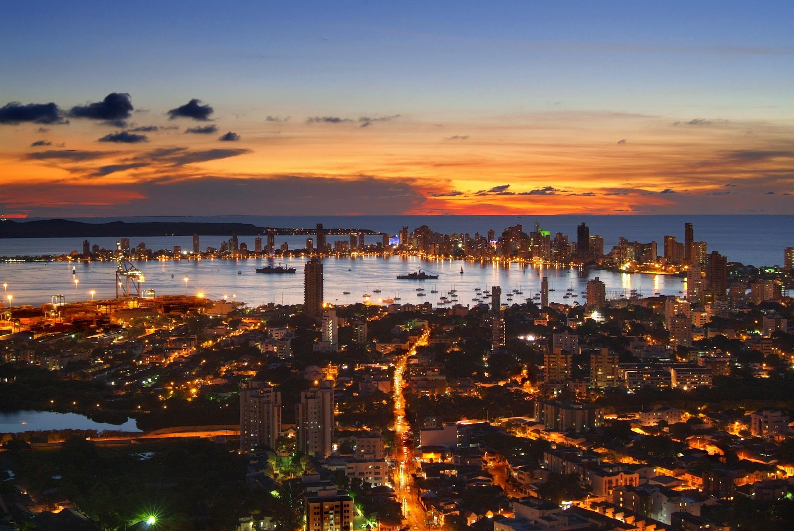 Cartagena is one of Colombia's five main urban centers.