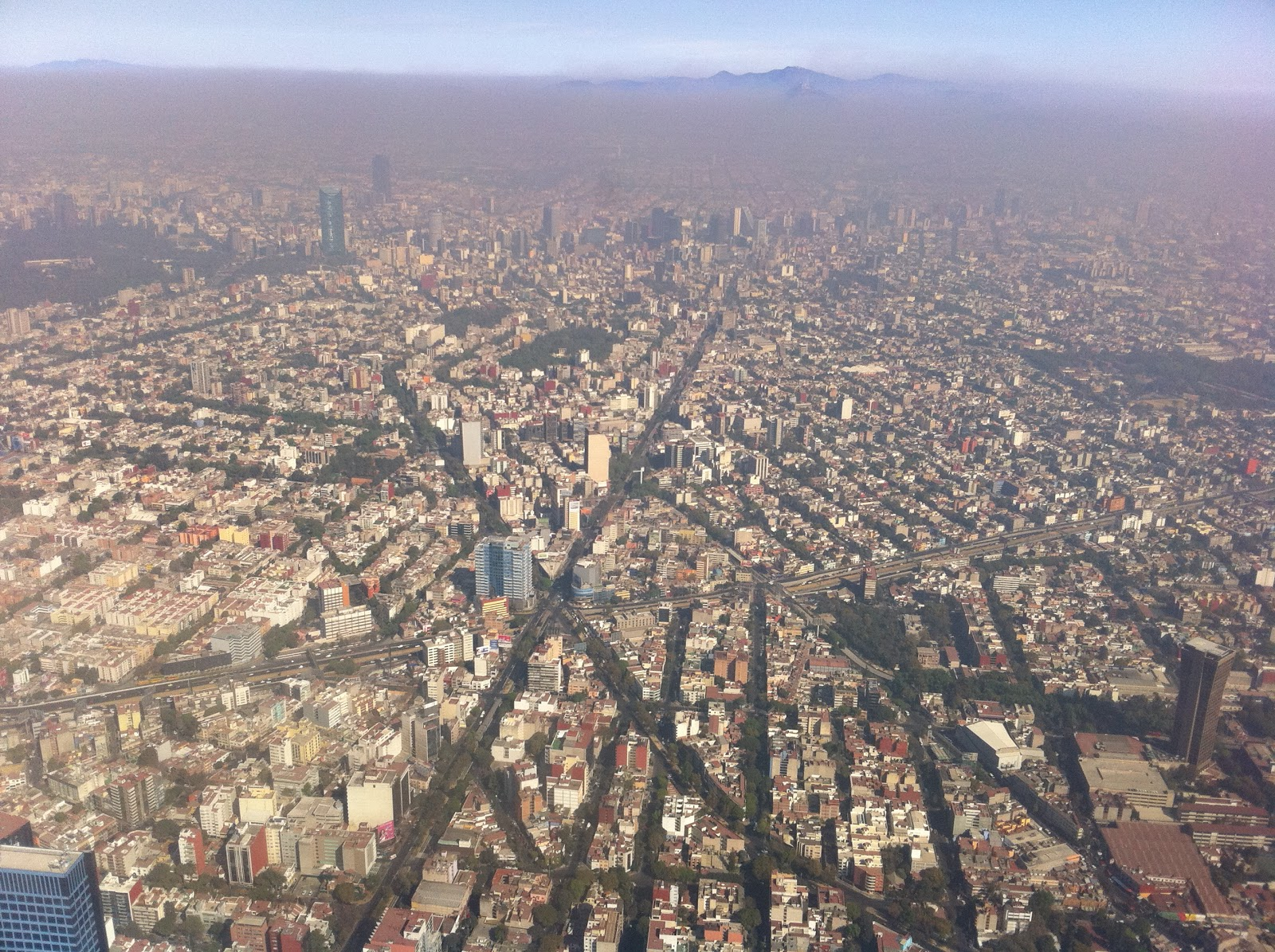 Luckily, most of Mexico's population live in urban areas like Mexico City.