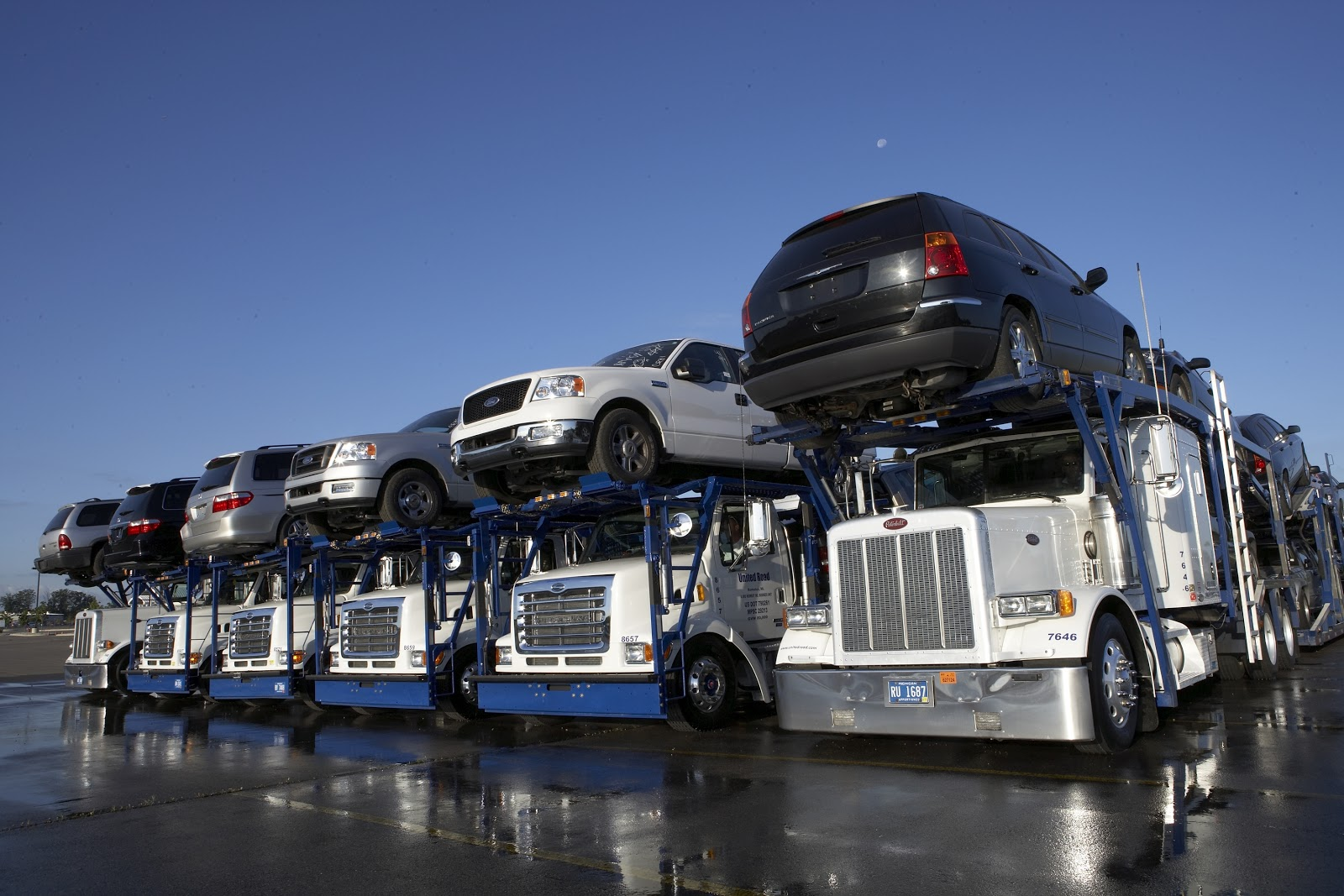 Shipping large items like cars can be costly.